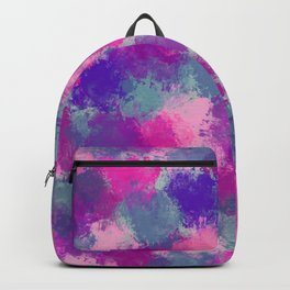 Bouquet Abstract Backpack