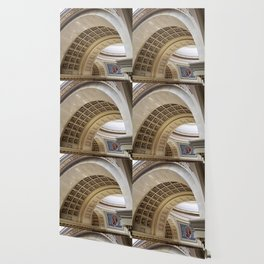 Wisconsin Capitol Building Arches And Angles Wallpaper