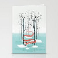 spirit Stationery Cards featuring Forest Spirit by Freeminds