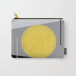 Keeping It Together - Abstract - Gray, Black, Yellow Carry-All Pouch