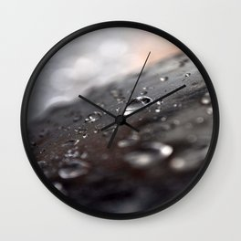 drops water Wall Clock