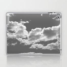 clouds grey Laptop & iPad Skin