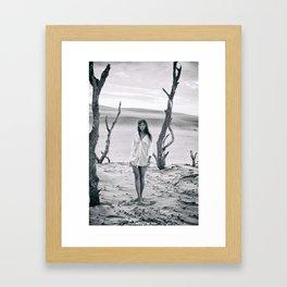 B&W Models Series Framed Art Print