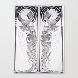 Dancer Series Canvas Print