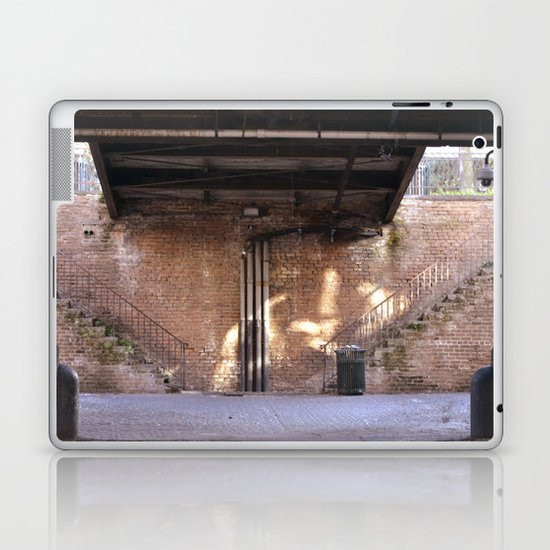river front steps Laptop & iPad Skin