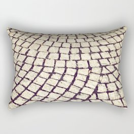 cobblestone pathway Rectangular Pillow