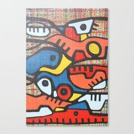 CAMINOS Y MONTAÑAS Canvas Print