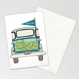 Watermelon Truck Stationery Cards