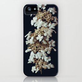 White lilac iPhone Case