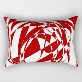 Abstract doodle Rectangular Pillow