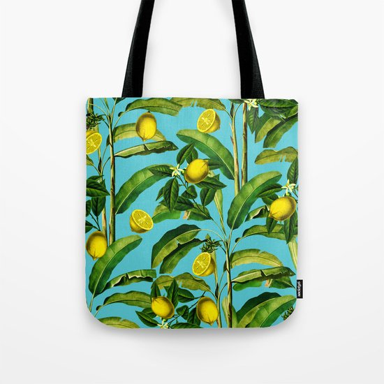Lemon and Leaf II Tote Bag