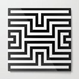 Diamond - Optical Illusion Metal Print