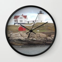 Nubble Lighthouse, Maine Wall Clock