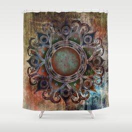 Mandala - Zombie Shower Curtain