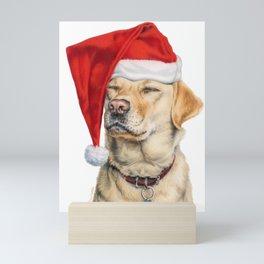 Stayin' Awake For Santa Mini Art Print