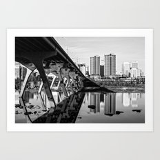 Richmond Reflections Art Print