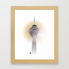 Berlin Love Framed Art Print