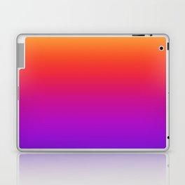 Colorful Gradient Pattern Neon Abstract Rainbow Laptop & iPad Skin
