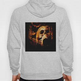 Scary Skulls In Forest By Annie Zeno Hoody