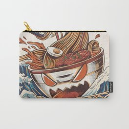 The Great Ramen Kanagawa Carry-All Pouch