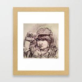 QUEEN CHEBA Framed Art Print