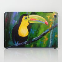 toucan iPad Cases featuring Toucan by OLHADARCHUK