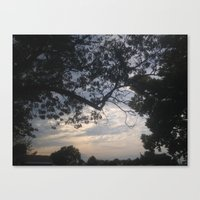 frame Canvas Prints featuring Frame by StarWolfLove
