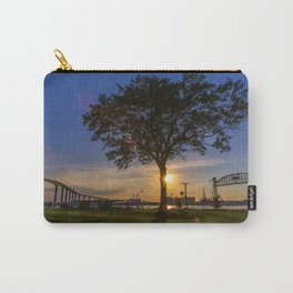 Sunset At Elizabeth River Park Carry-All Pouch
