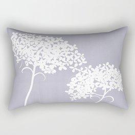 Queen Anne's Lace PGrey Rectangular Pillow