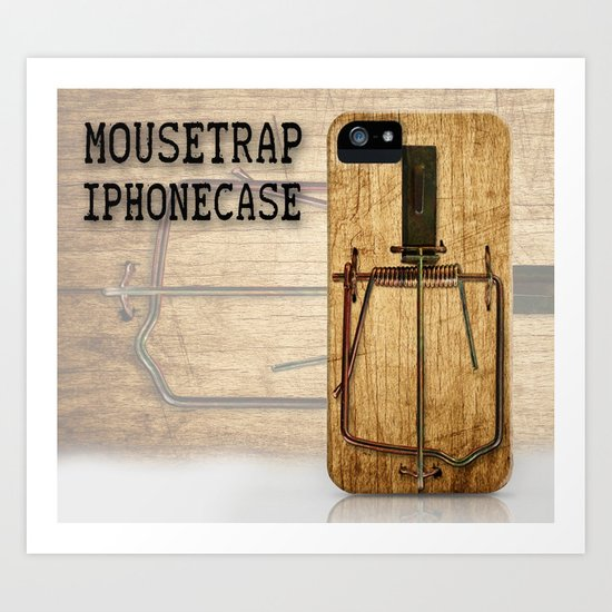 Mousetrap iPhonecase Art Print