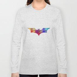 BAT MAN Retro -  Superhero / Comic Long Sleeve T-shirt