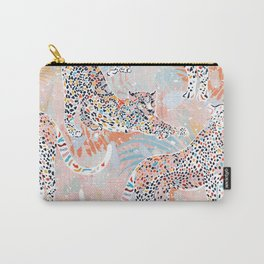 Colorful Wild Cats Carry-All Pouch