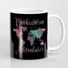 Bookworm Adventurer Mug