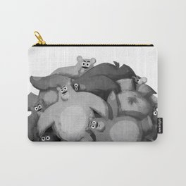Bear Ball (B&W) Carry-All Pouch