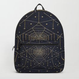 Spider Silk Stars Book Backpack