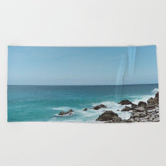 Pedregal, Mexico V Beach Towel