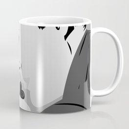Kissing man and woman Coffee Mug