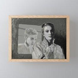 A bout de souffle Framed Mini Art Print