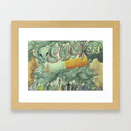 Don't Smoke Framed Art Print