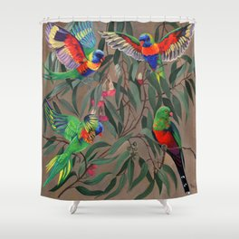 Birds of Paradise. Shower Curtain
