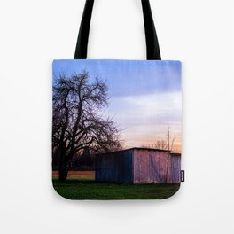 The wooden barn Tote Bag