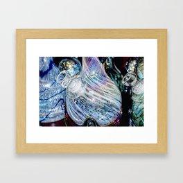 Vivid Colorful Glass Framed Art Print