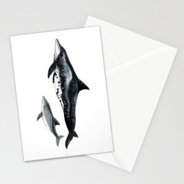 Rough-toothed dolphin (Steno bredanensis) Stationery Cards