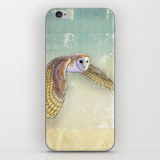 Barn Owl Labyrinth iPhone & iPod Skin