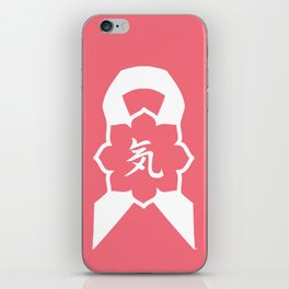 Key Clothing Canada Essence Ribbon Logo iPhone Skin