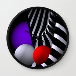 opart dreams -19- Wall Clock
