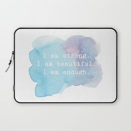 I am Strong Laptop Sleeve
