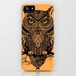 Warrior Owl 2 iPhone Case