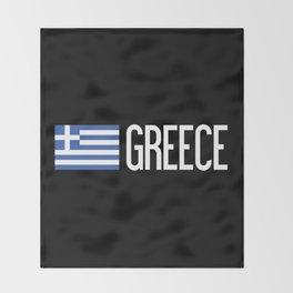 Greece: Greek Flag & Greece Throw Blanket