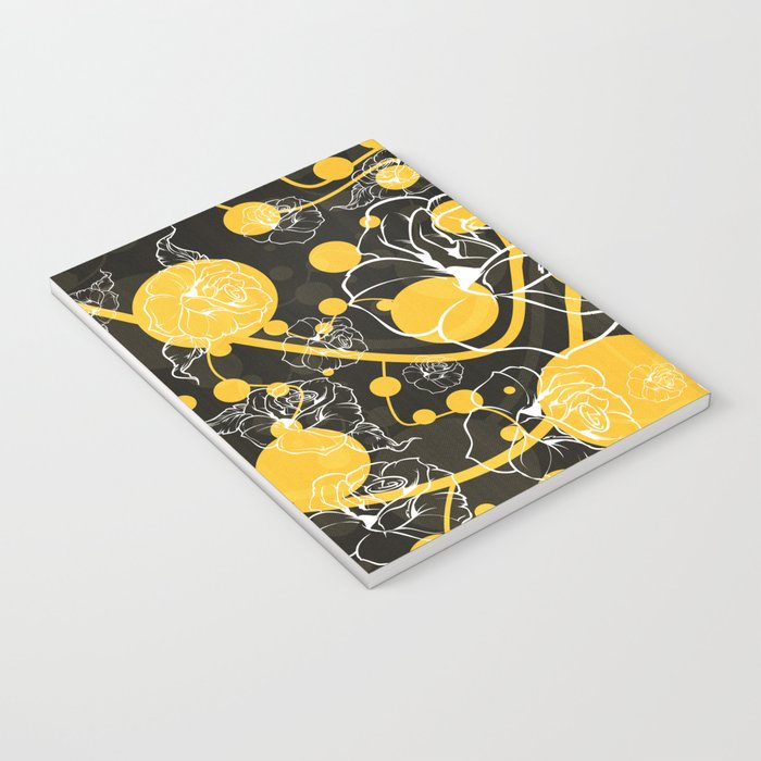 My yellow autumn garden Notebook